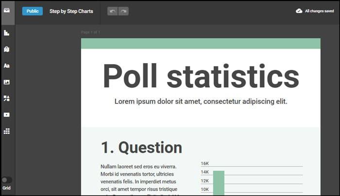 8 Situs Pembuat Infografis Gratis untuk Membuat Desain