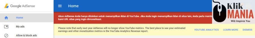 Melihat Penghasilan Youtube