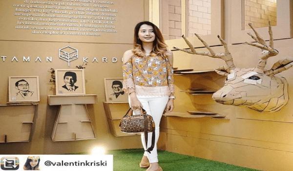 Taman Kardus Pesona Hits Kota Bandung