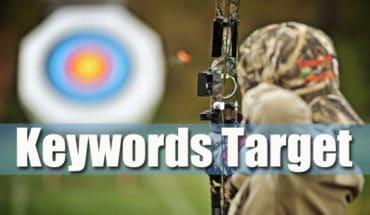 target kata kunci