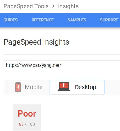 speed blog