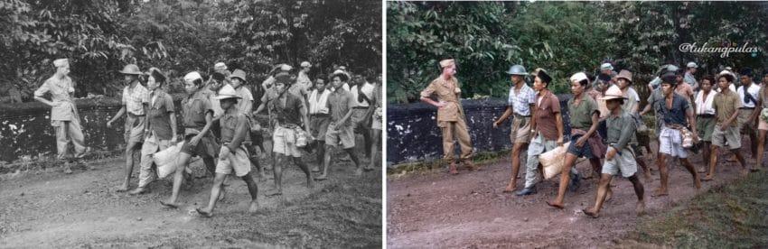 Hijrahnya pasukan TNI