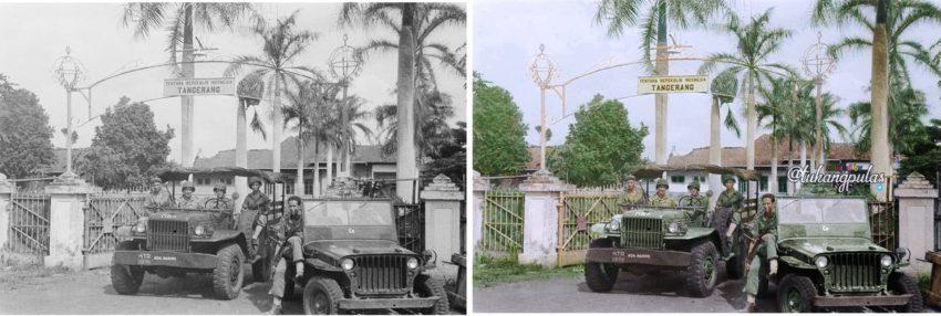 Gedung bekas Akademi Militer Tangerang