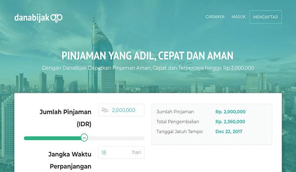 Situs pinjam uang