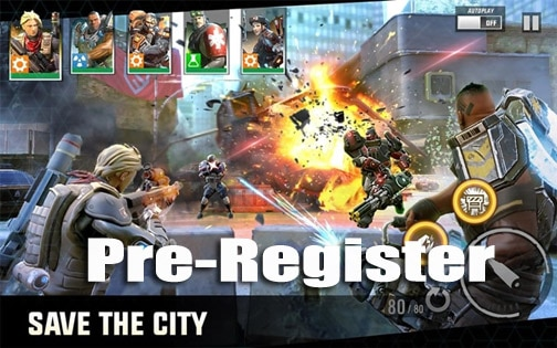 Game Pre-Register