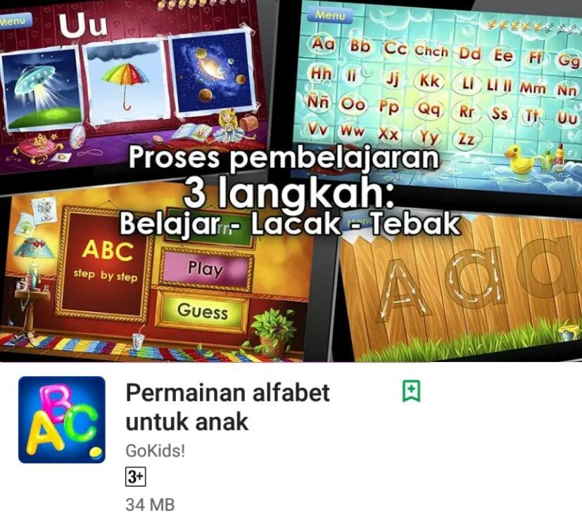 Aplikasi untuk Mengembangkan Kecerdasan Anak