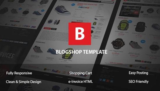 Template Toko Online Untuk Blogger