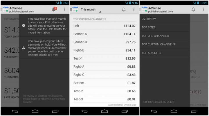 Aplikasi Android untuk Blogger