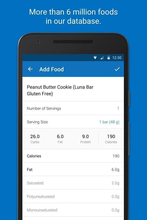 aplikasi diet terbaik-MyFitnessPal