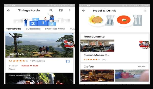 Aplikasi Google Trips