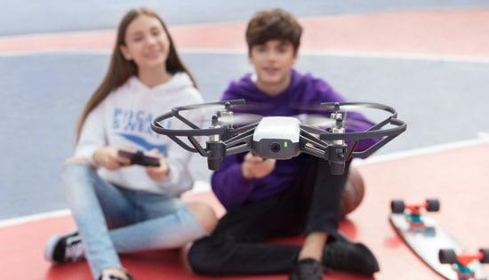 drone tello action