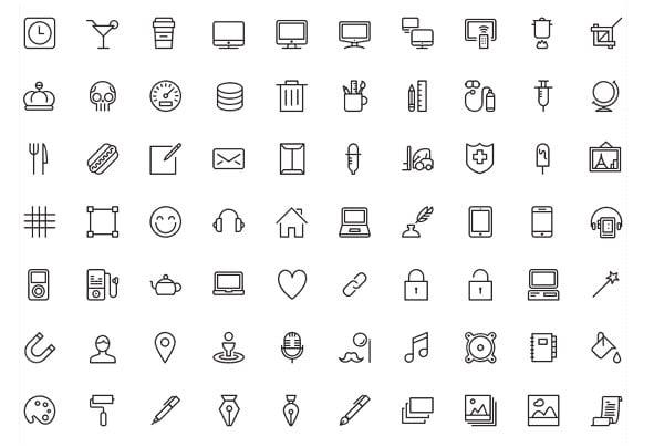 membuat desain icon