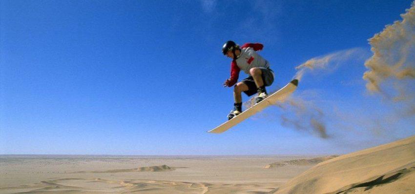 olahraga sandboarding