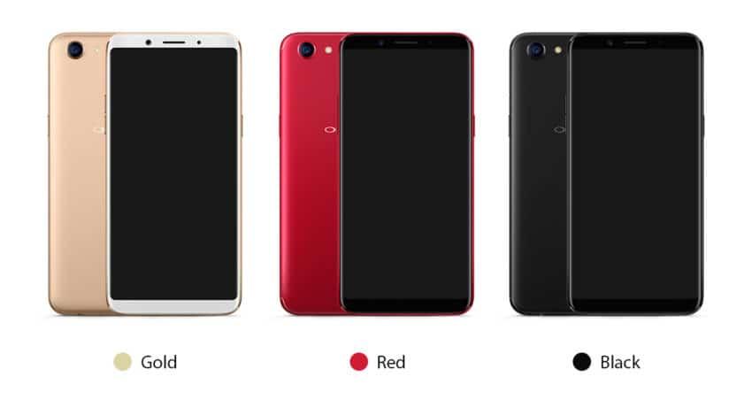 Smartphone Oppo F5