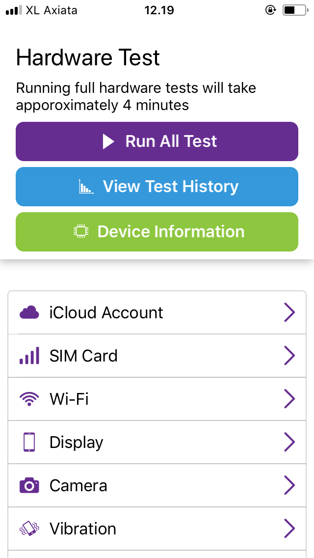 Phone Check Utility