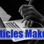 Membuat Puluhan Artikel dalam Sehari