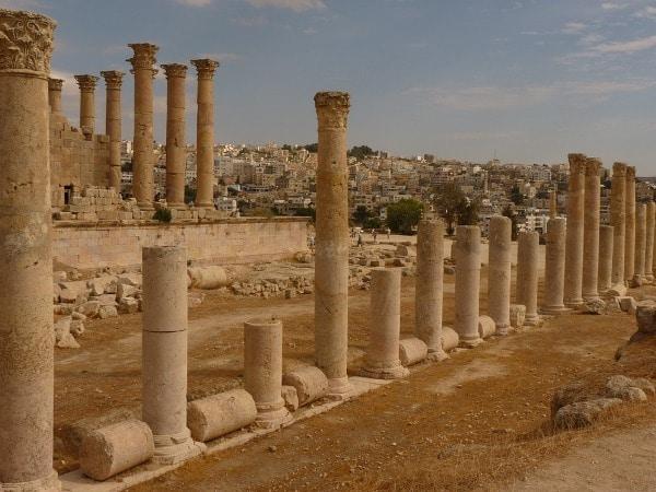 Kuil Artemis, Jerash, Yordania
