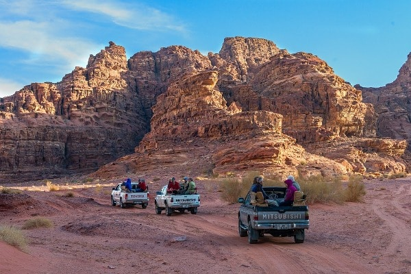 Off-road Wadi Rum