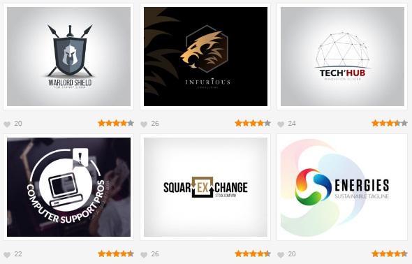 template logo gratis