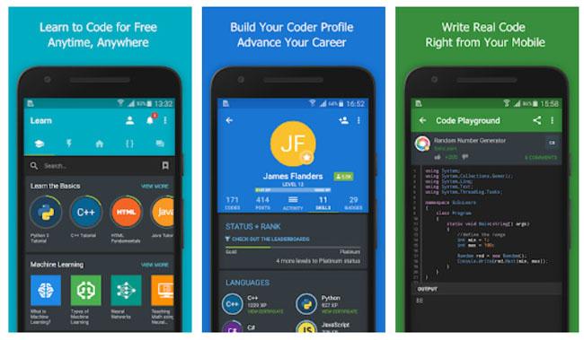 Aplikasi Smartphone Untuk Belajar Coding