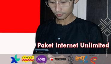 Paket Internet Unlimited All Operator lengkap