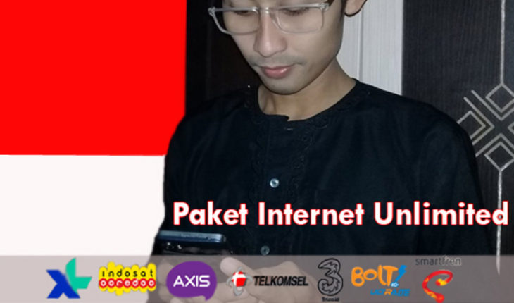 Paket Internet Unlimited All Operator lengkap