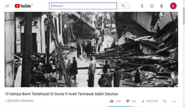 Tema Video YouTube