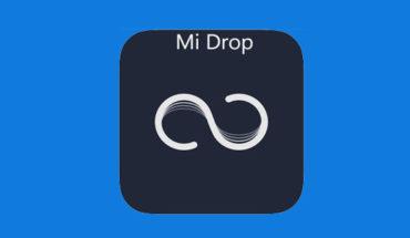 mengirim file dengan mi drop