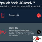 Cara Mengetahui Kartu Telkomsel Sudah Support Jaringan 4G