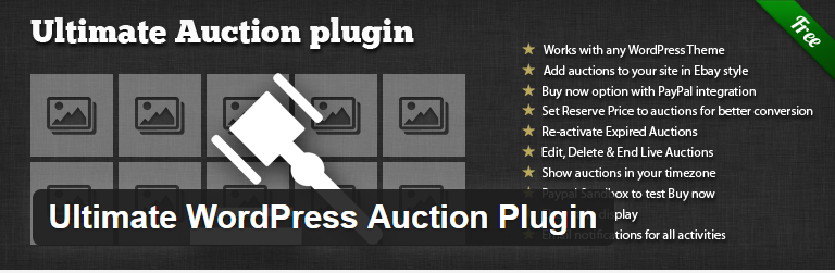 Plugin Ultimate WordPress Auction