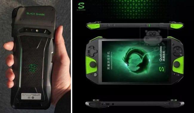 Smartphone Gaming Xiaomi black shark