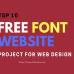 Website Penyedia Font Gratis
