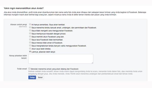 cara mengecek akun facebook bocor atau tidak