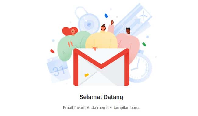 menggunakan gmail baru