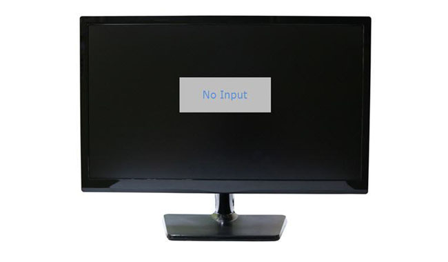 monitor no display