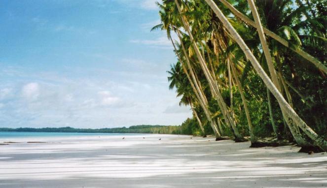 pantai terindah di maluku - pantai ngurbloat