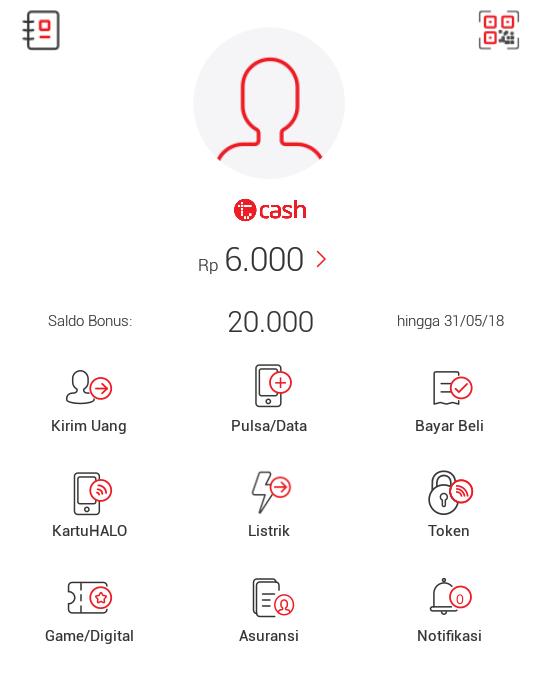 ualan Pulsa dengan Aplikasi T-Cash