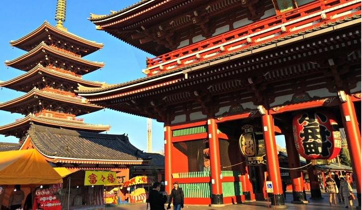 Sensoji Temple wisata di Tokyo yang hits