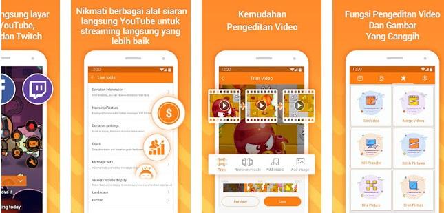 Aplikasi Perekam Layar Android - DU