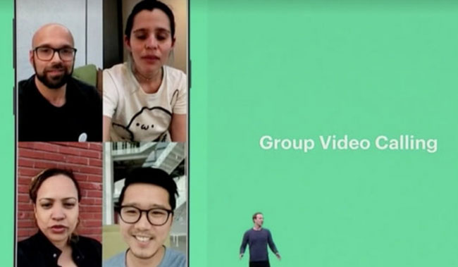 Fitur Group Video Calling WhatsApp