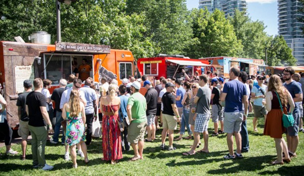 Food Truck di Festival