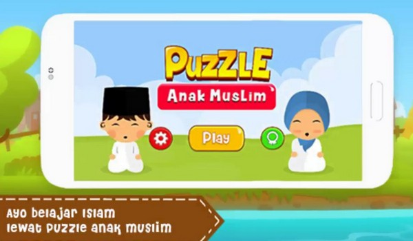 Puzzle Anak Muslim