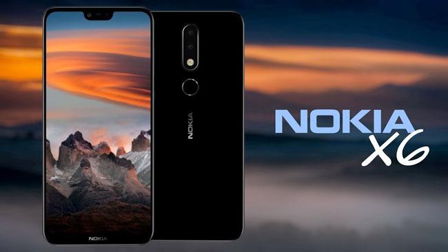 Smartphone Nokia X6
