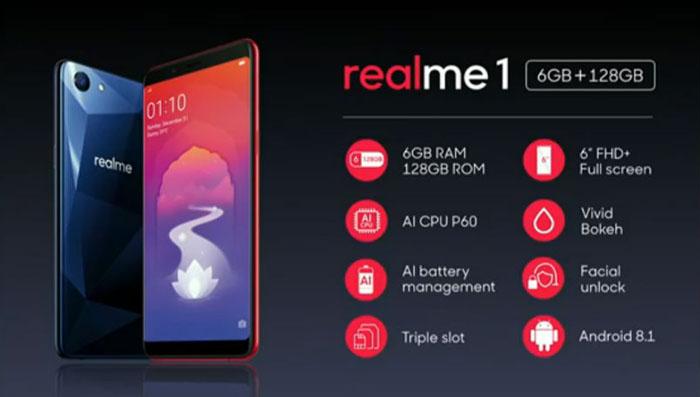 Spesifikasi Oppo Realme 1 via BGR.in