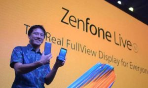 Spesifikasi dan harga Zenfone Live L1