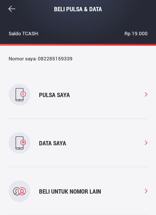 Isi Pulsa Telkomsel