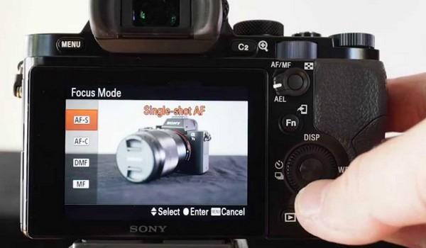 Autofocus Kamera Sony