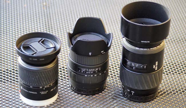 Kode Lensa Kamera Sony
