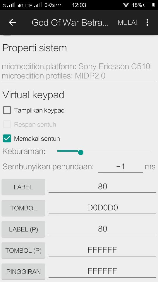 cara mengatur tombol touch screen di android