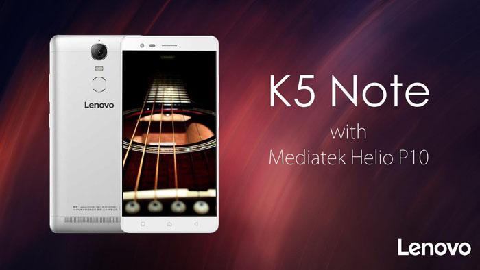 Spesifikasi Lenovo K5 Note